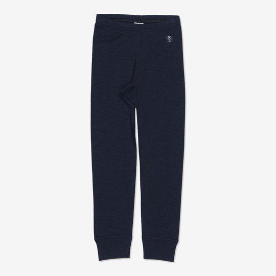 Merinoull bukse baby mørkblå