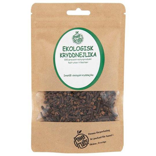 Powerfruits Ekologisk Kryddnejlika Hel, 50 g