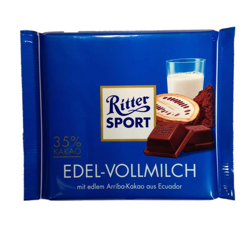 Ritter Sport Extra fin mjölkchoklad - 33% rabatt