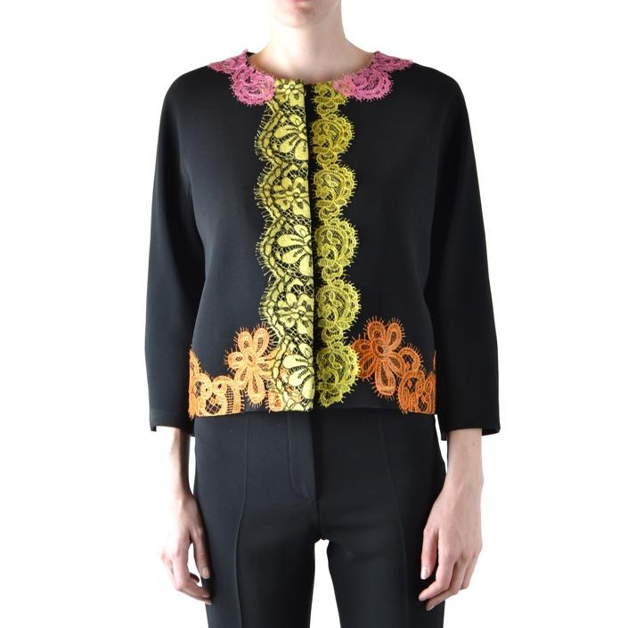 Boutique Moschino Women's Blazer Black 166760 - black 42