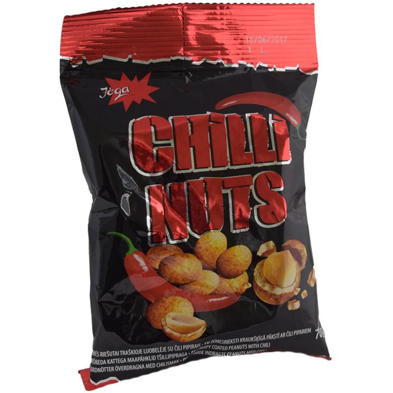 Nötter Chili 70g - -67% rabatt