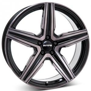 Nitro Spark Gloss Black Grey 8x18 5/108 ET42 B63.3
