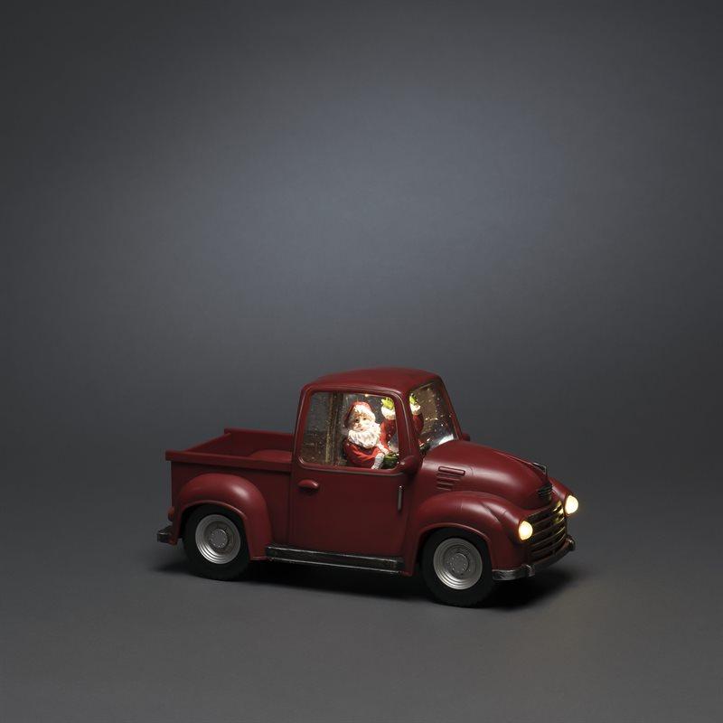 Joulukoriste auto pick-up