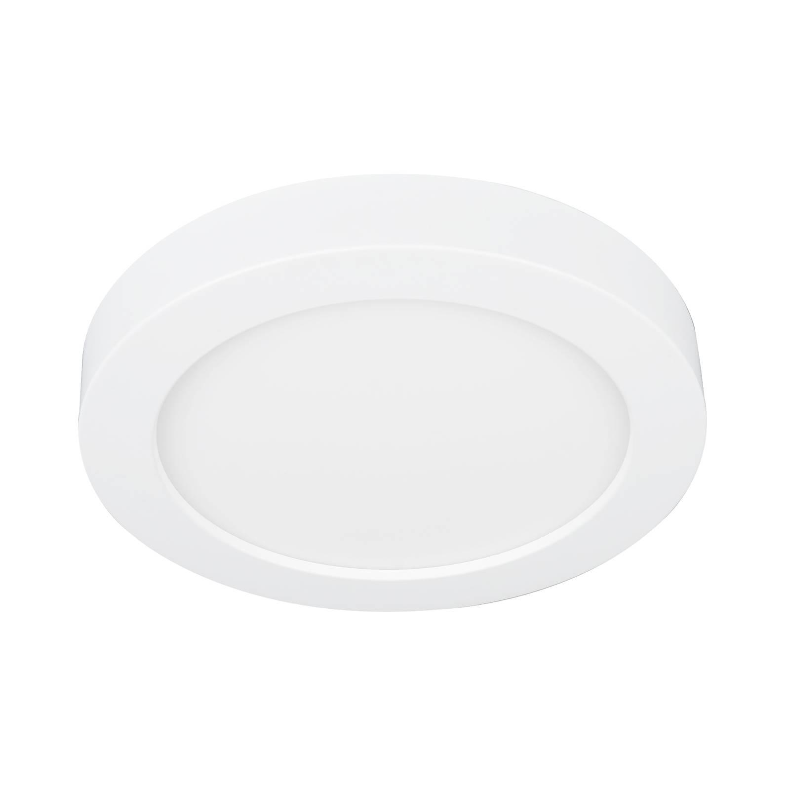 Prios Edwina -LED-kattovalaisin valkoinen 17,7 cm