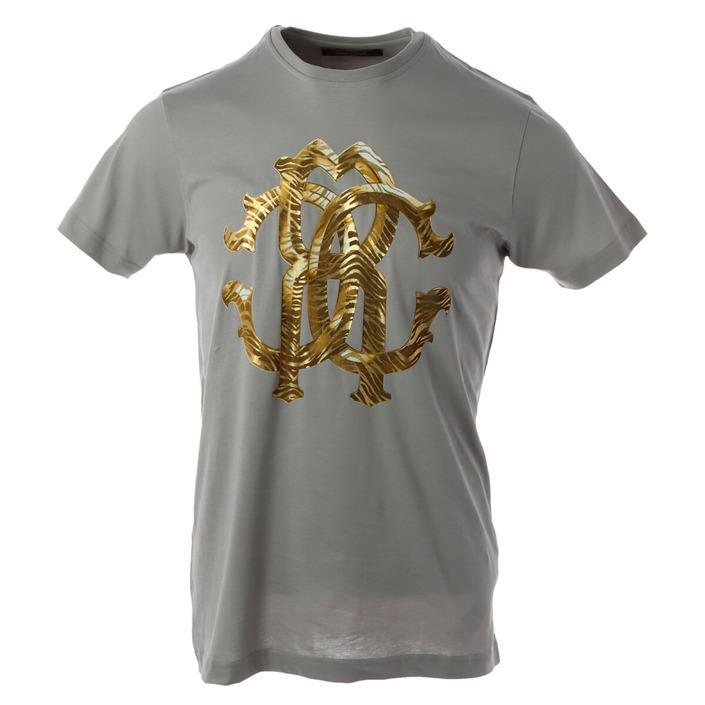 Roberto Cavalli - Roberto Cavalli Men T-Shirt - grey M
