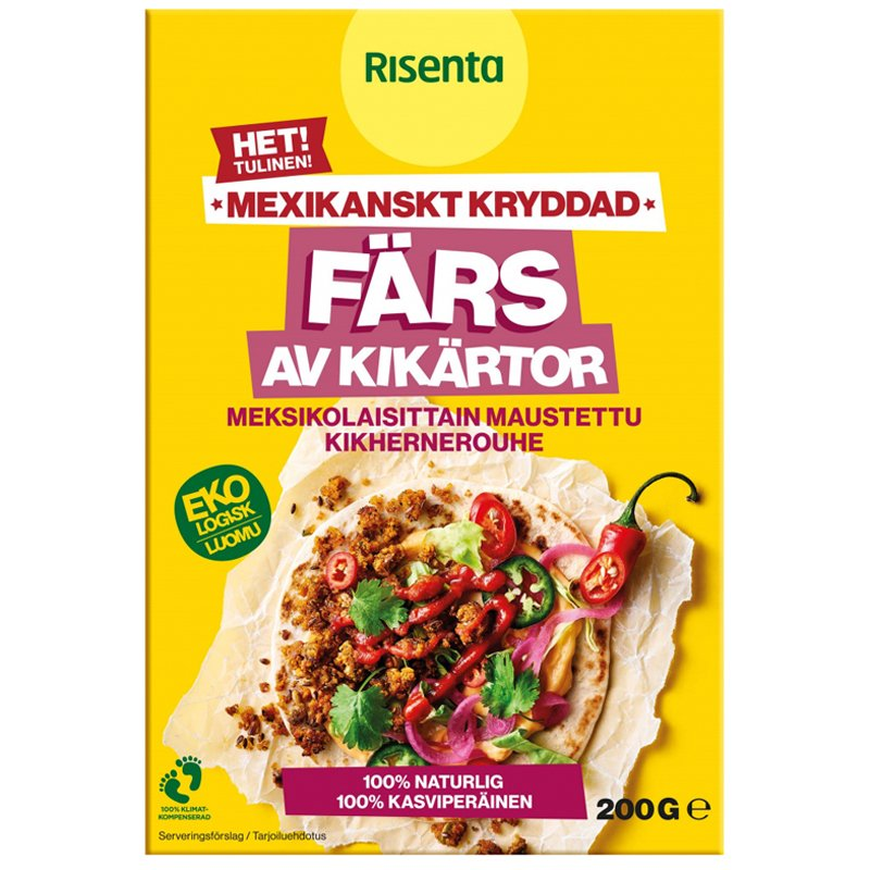 Eko Kikärtor Färs Het 200g - 40% rabatt