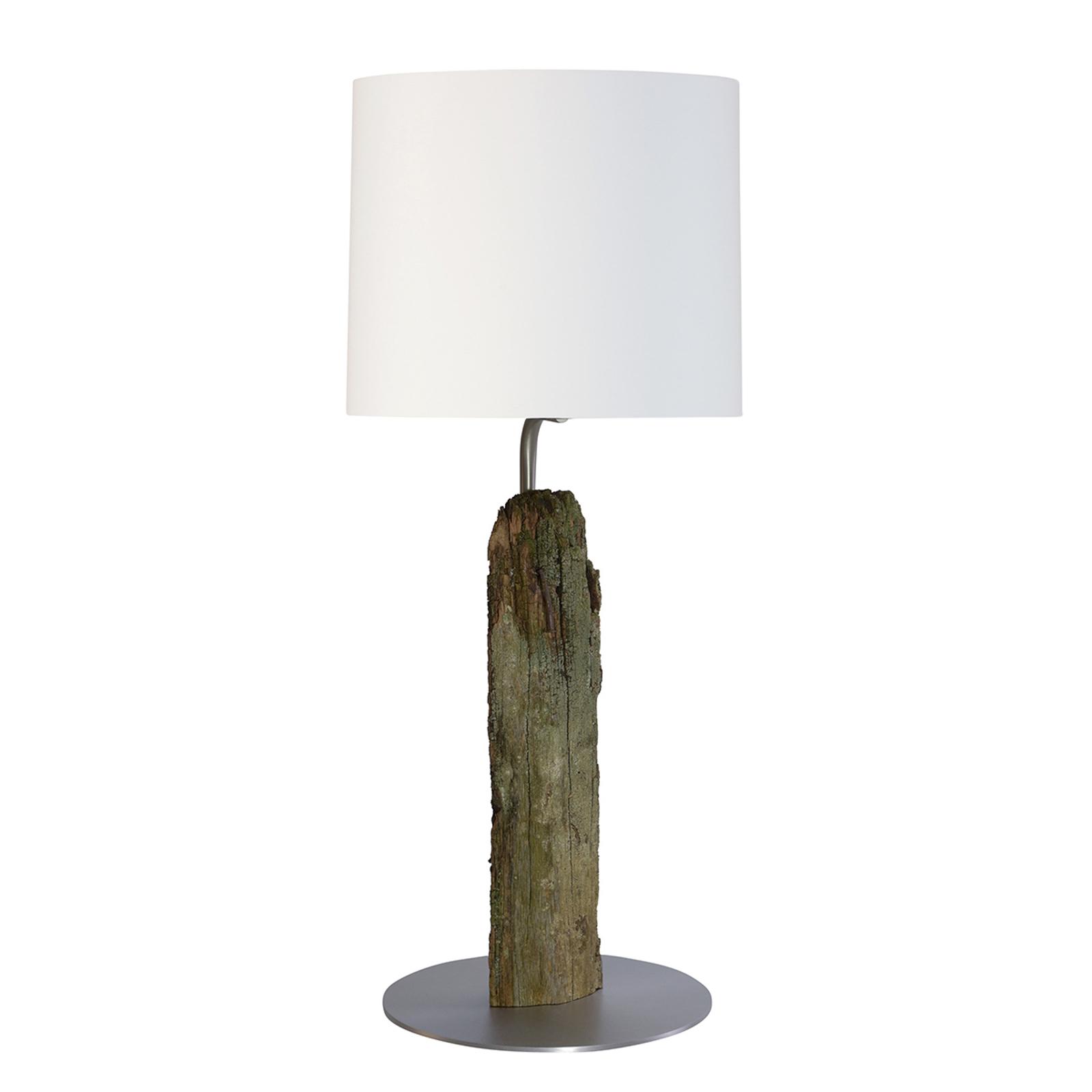 HerzBlut Alter Kavalier -pöytälamppu puuta