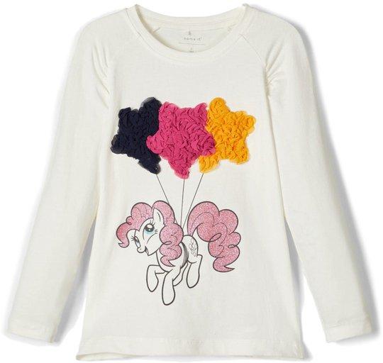 Name it Noelle Langermet T-shirt, Snow White 86