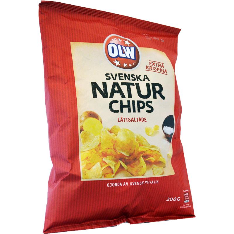 Naturchips Lättsaltade - 60% rabatt