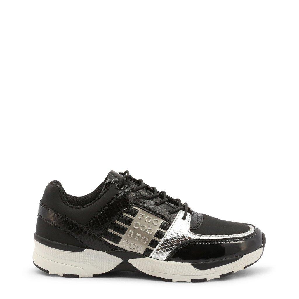 Roccobarocco Women's Sneakers Shoe Black 342763 - black EU 36