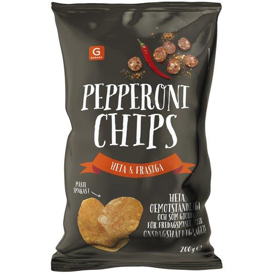 Chips Pepperoni 200g - 72% rabatt
