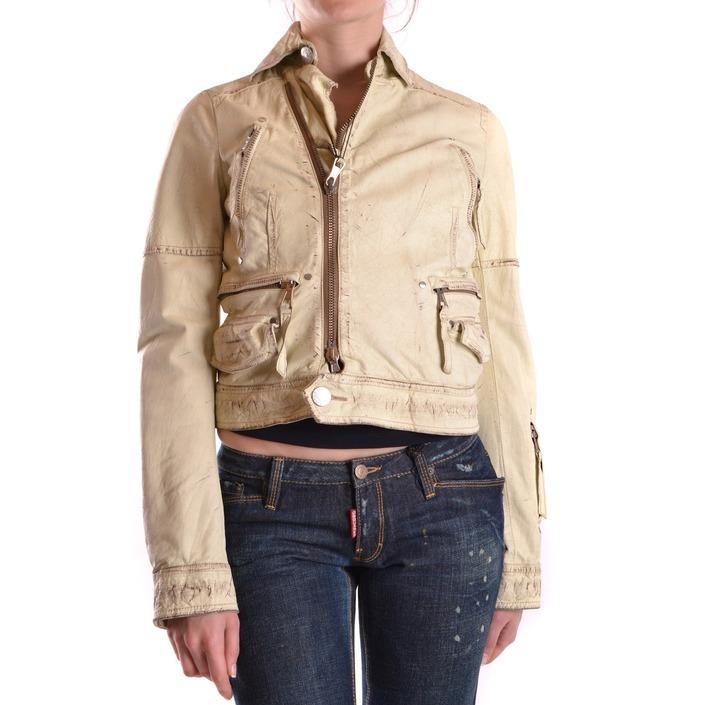 Dsquared Women's Jacket Beige 168804 - beige 40