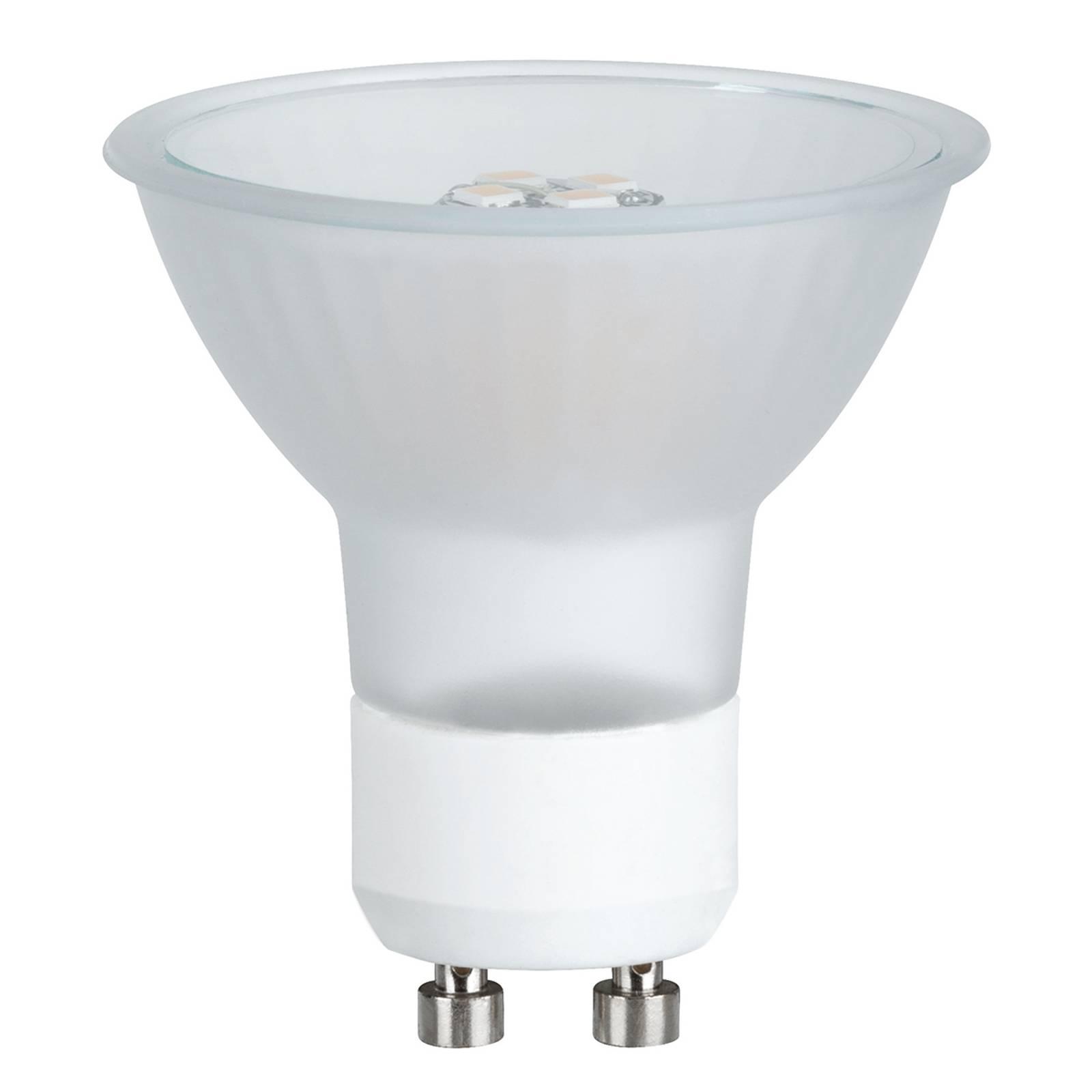 GU10 3,5W 827 LED-heijastinval MAXIFLOOD p. opaali