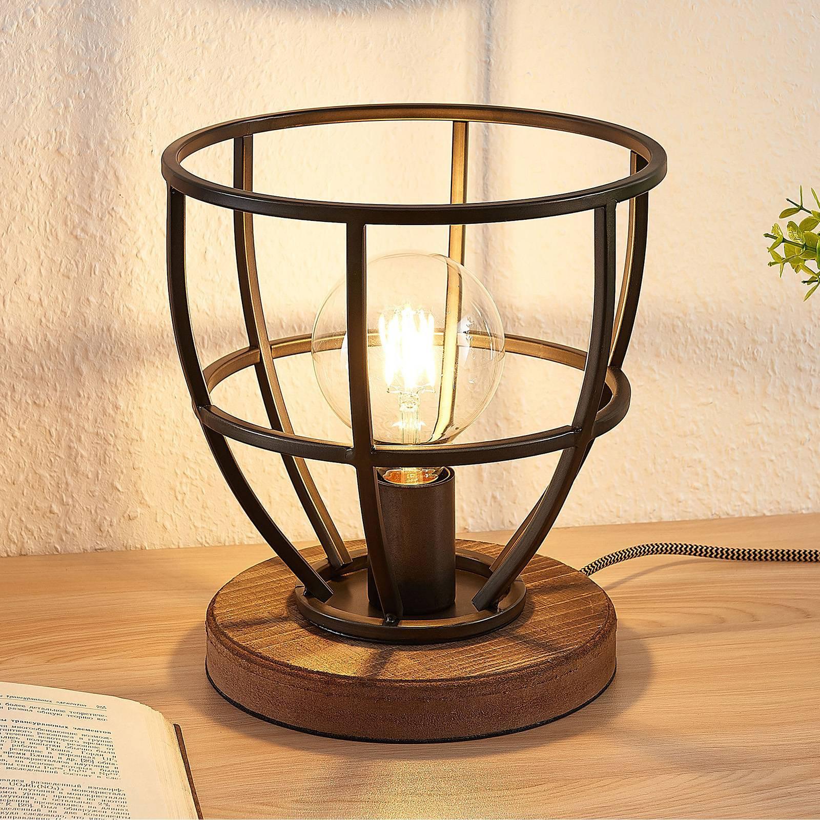 Lindby Maximilia bur-bordlampe