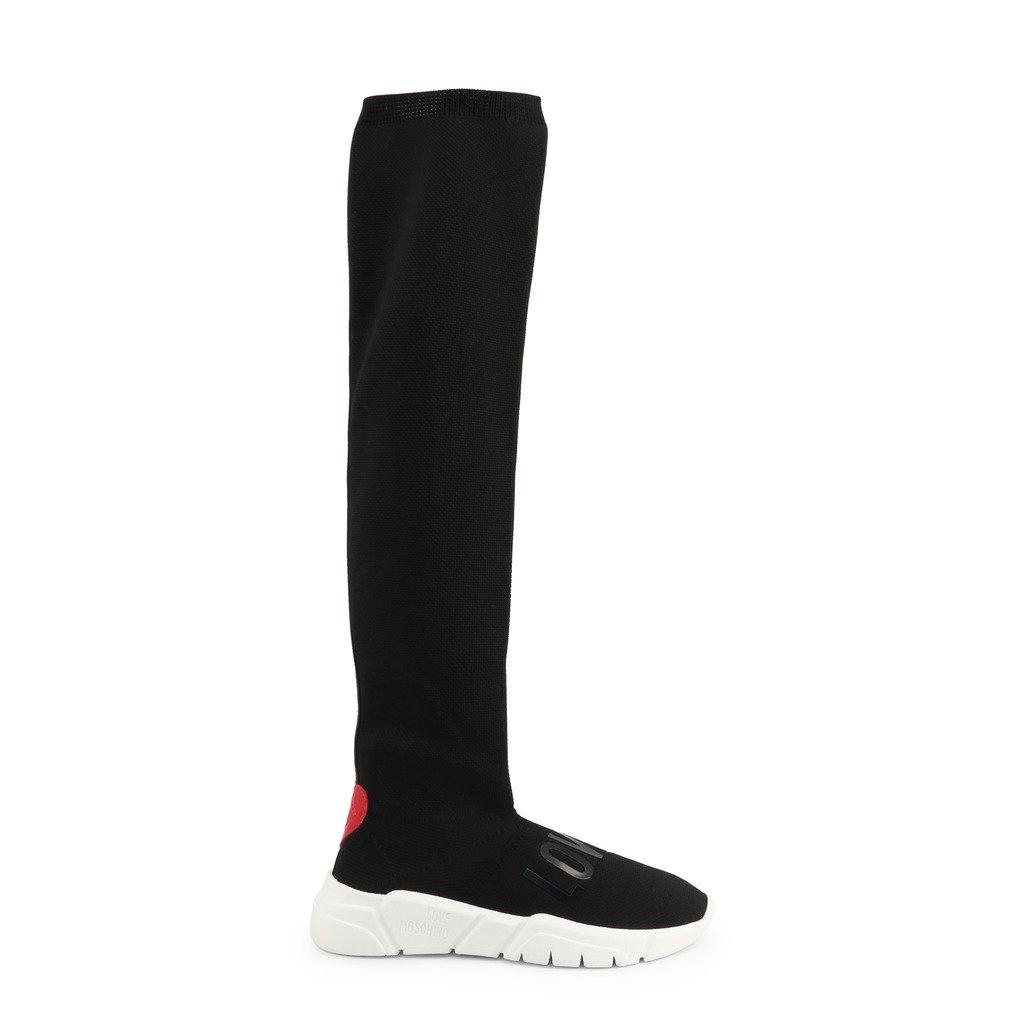 Love Moschino Women's Boot Black JA15133G1BIQ - black EU 35