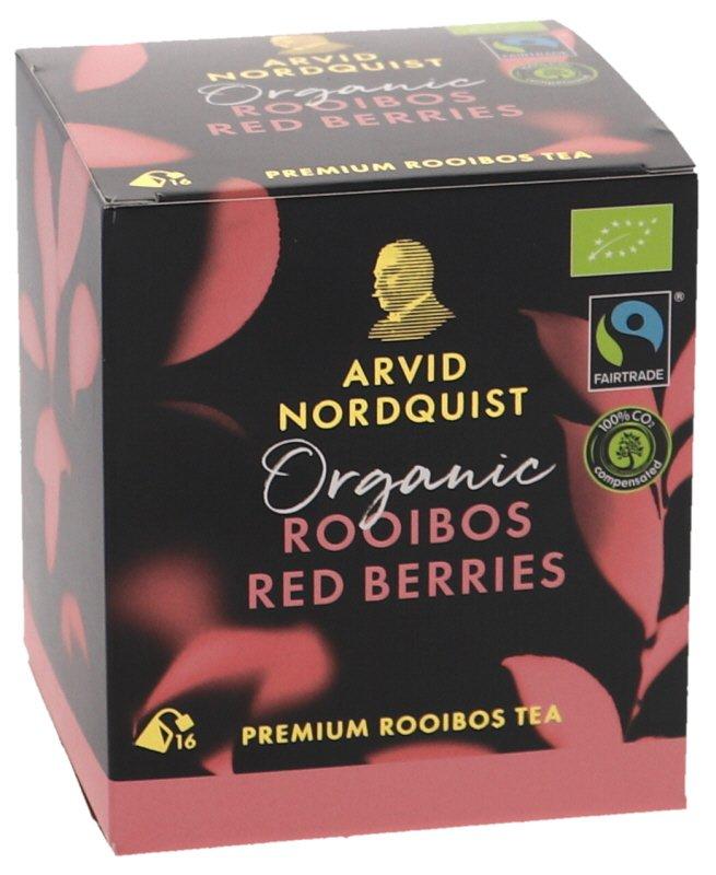 Luomutee Rooibos Red Berries - 45% alennus