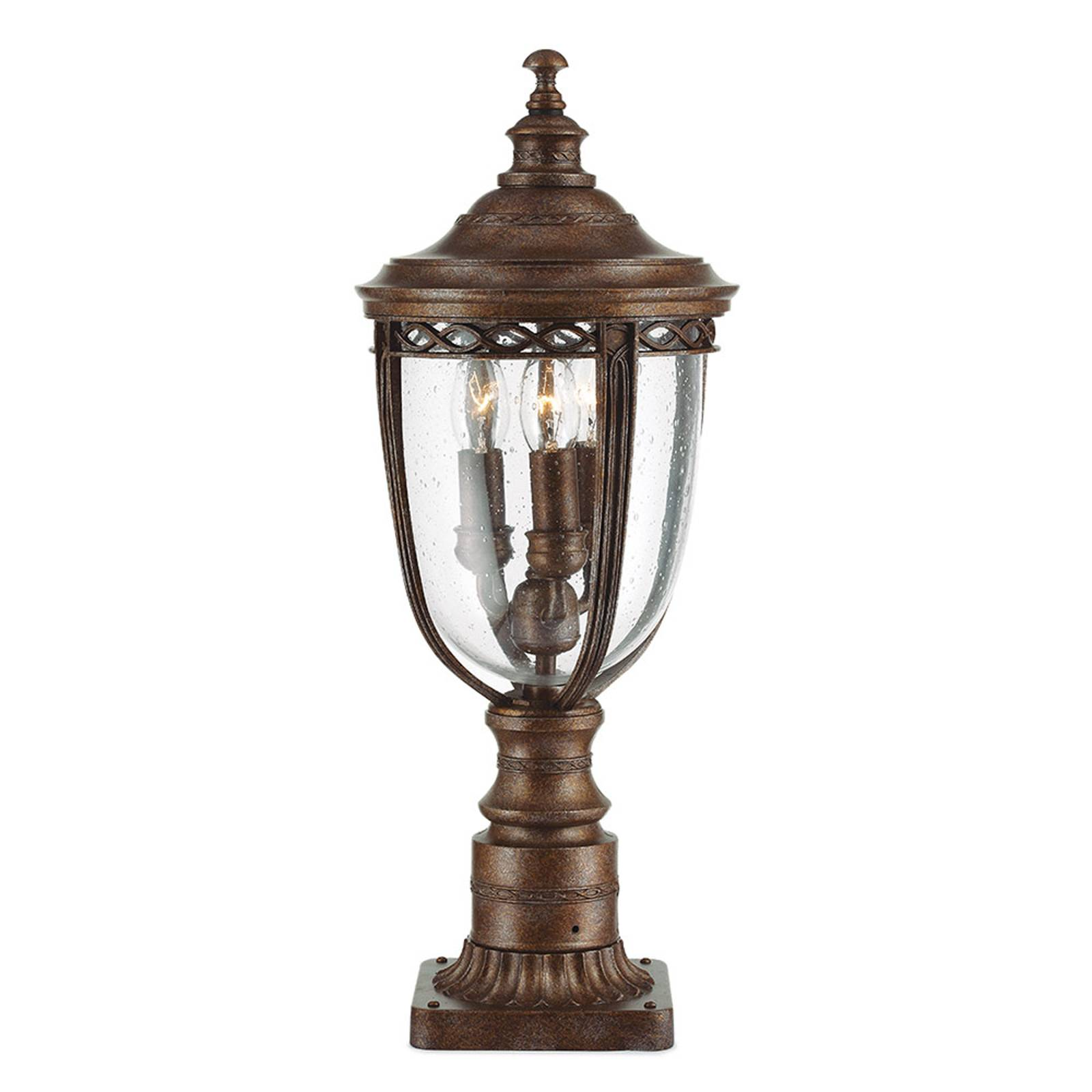 Pollarilamppu English Bridle, pronssi