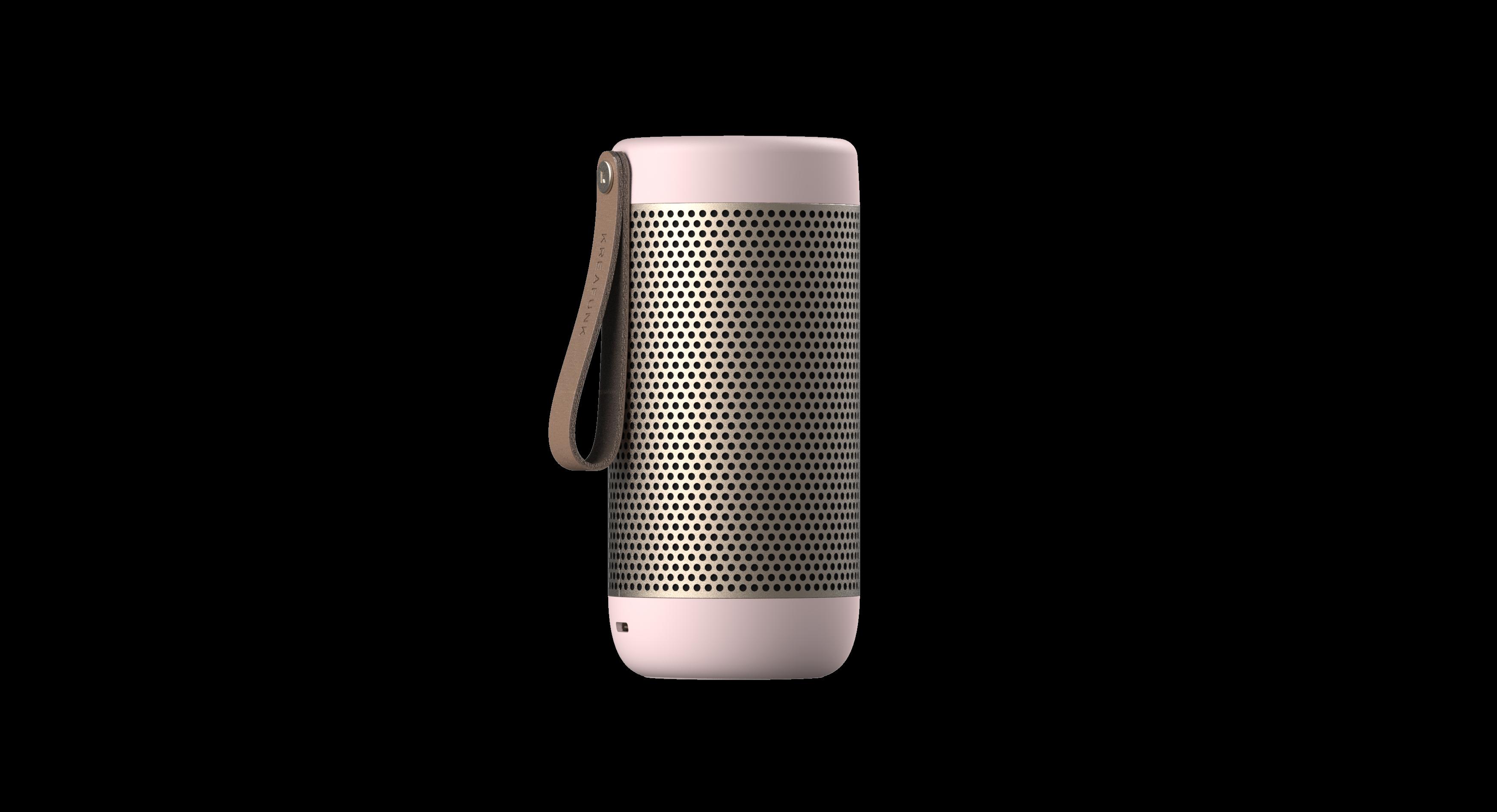 KreaFunk - aCOUSTIC Bluetooth Speaker - Dusty Pink (Kfwt43)