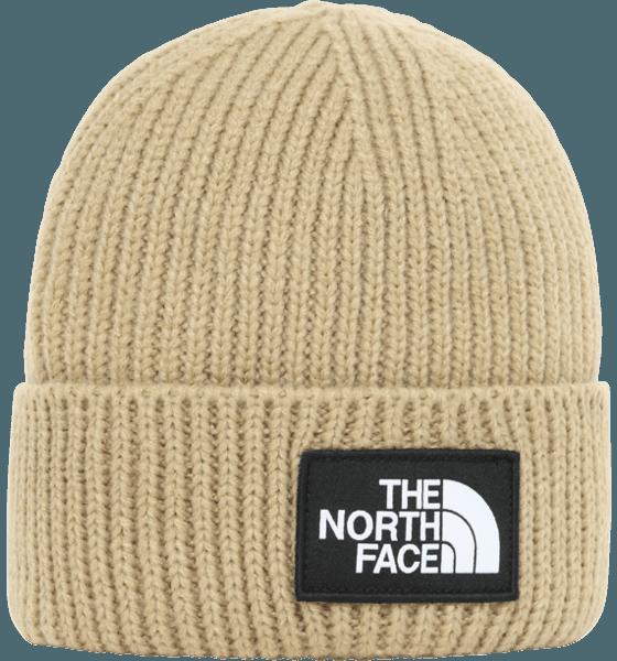 The North Face Logo Box Cuffed Beanie Mössor & Kepsar HAWTHORNE KHAKI
