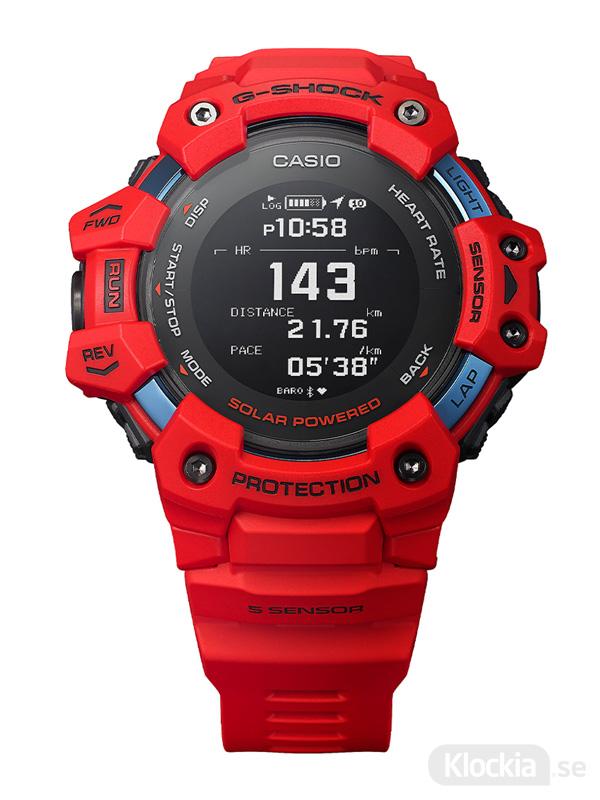 CASIO G-Squad Heart Rate Monitor GBD-H1000-4ER