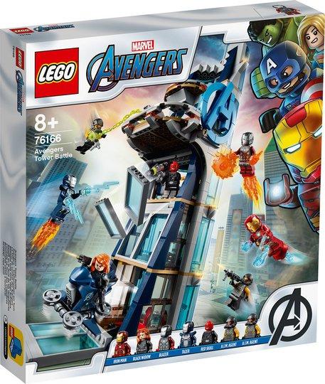 LEGO Super Heroes 76166 Avengers Tower Battle
