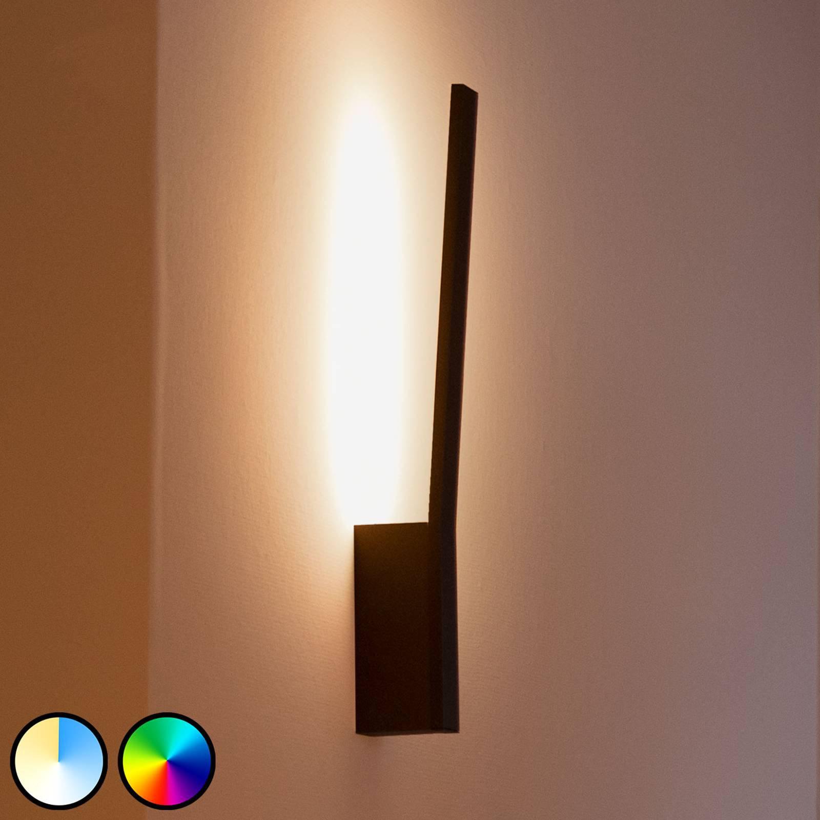 Philips Hue Liane LED-vegglampe, RGBW, svart