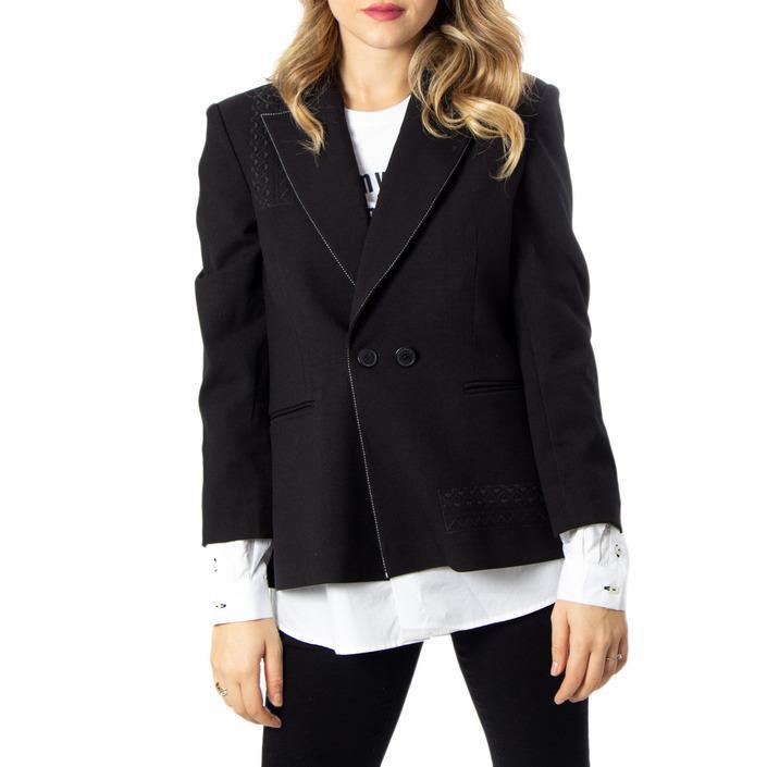 Desigual Women's Blazer Black 170167 - black 38