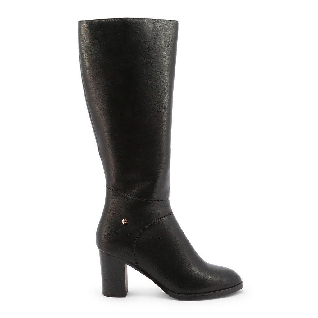 Roccobarocco Women's Boot Black RBSC1JG02 - black EU 37