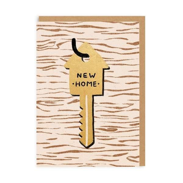 New Home Key Greeting Card