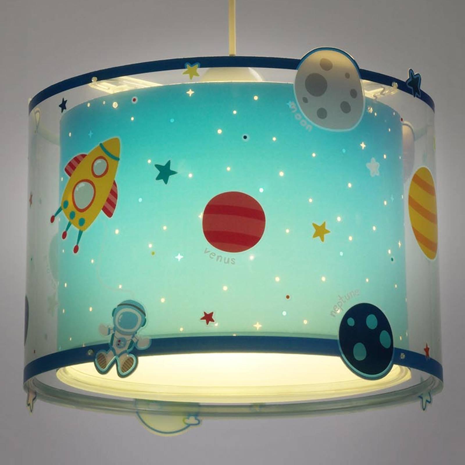 Planets – lastenhuoneen kuvioitu riippuvalaisin