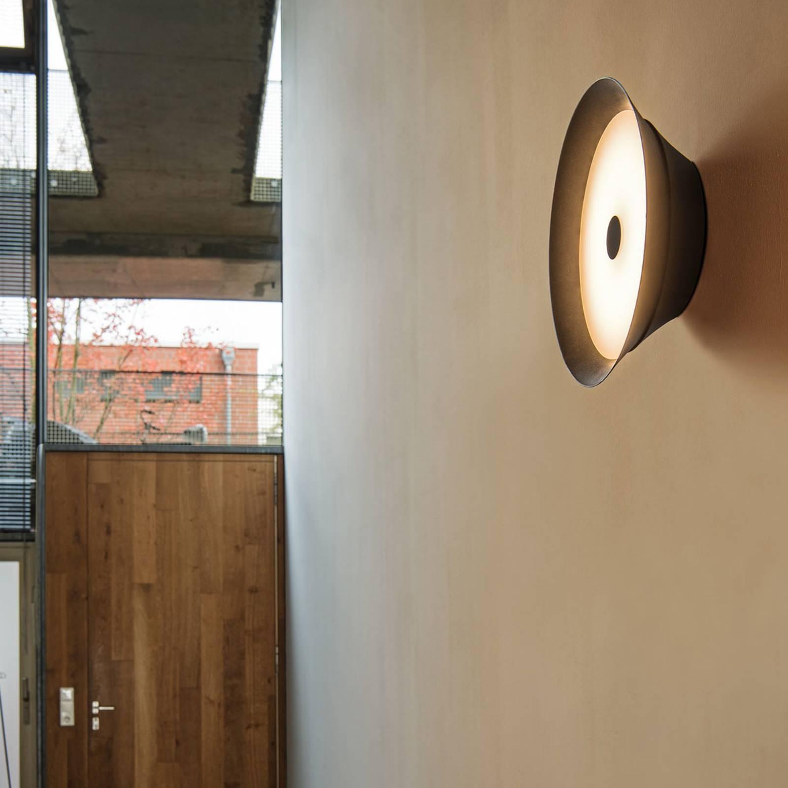 SLV Bato 35 -LED-seinävalaisin, musta