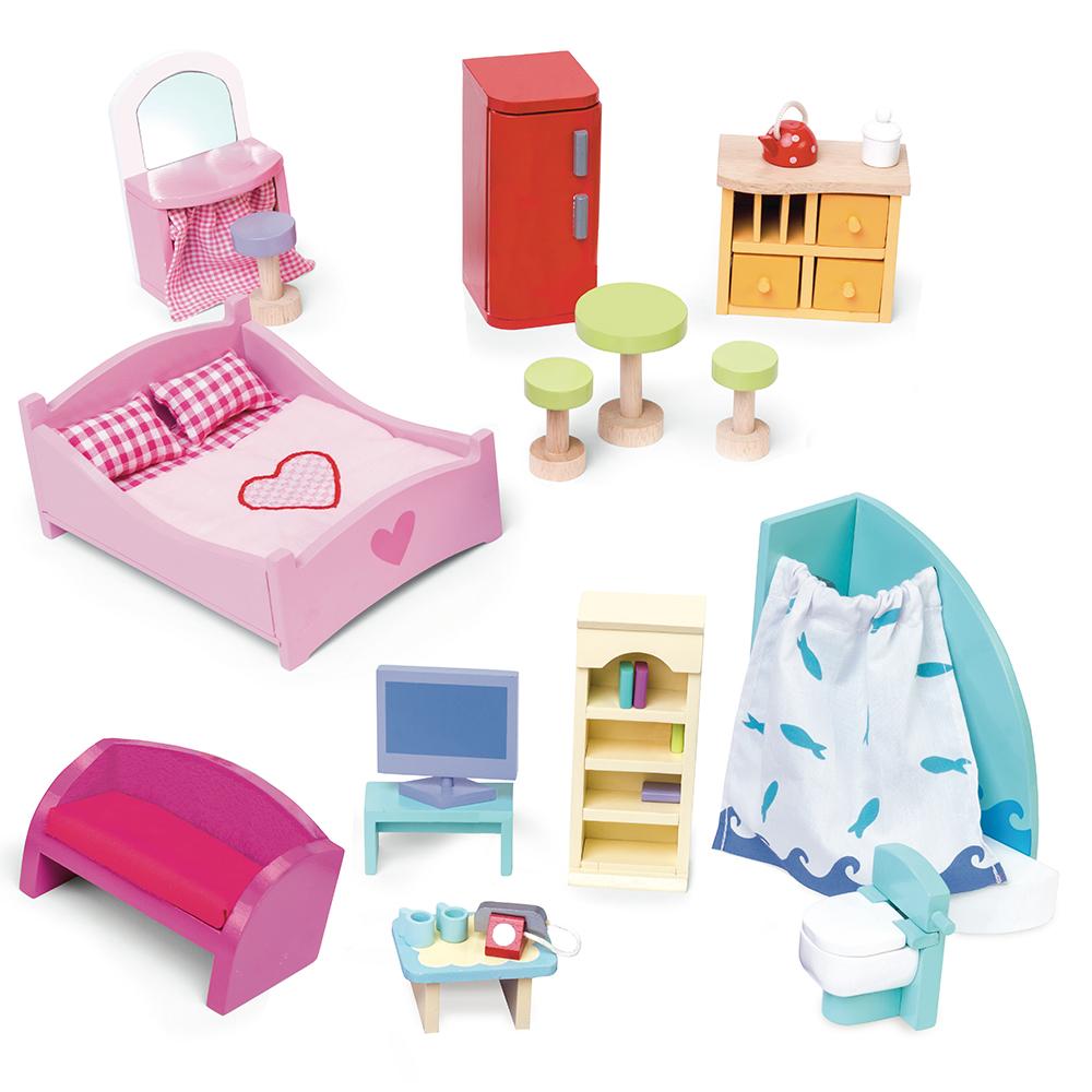 Le Toy Van - Deluxe Dolls House Furniture Set (LME039)