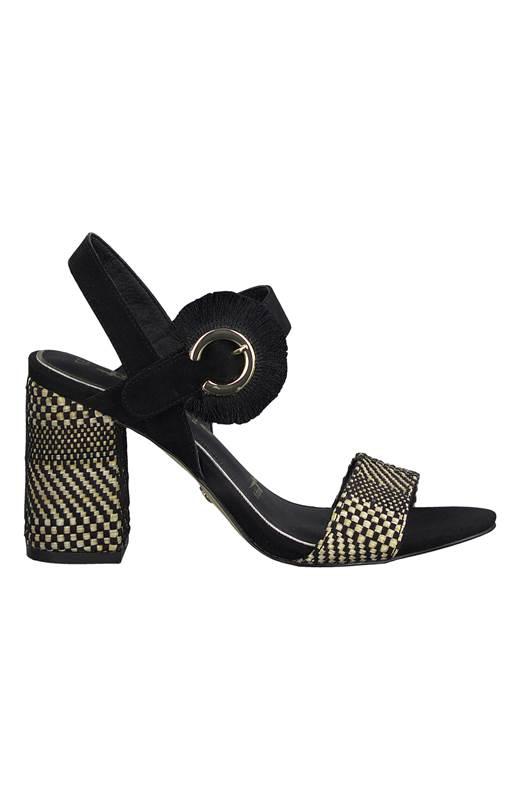 Tamaris Elegant sandalett Svart