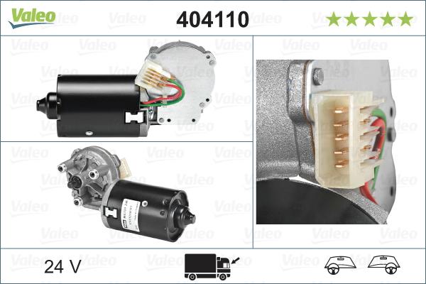 Pyyhkijän moottori VALEO 404110