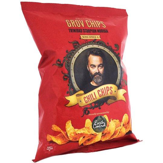 """Chips Chili """"Trinidad Scorpion Moruga"""" 150g - 50% rabatt"""