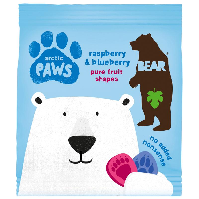 "Godis ""Arctic Paws Raspberry & Blueberry"" 20g - 67% rabatt"
