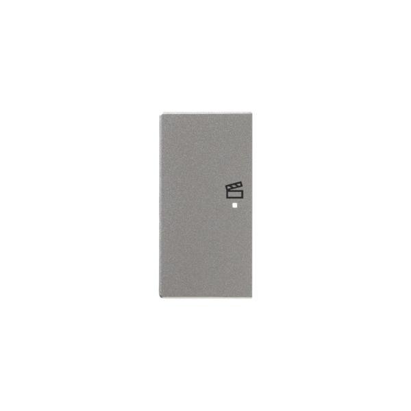 ABB Impressivo 6220-0-0162 Yksiosainen vipupainike tilanneohjaus, vasen Alumiini