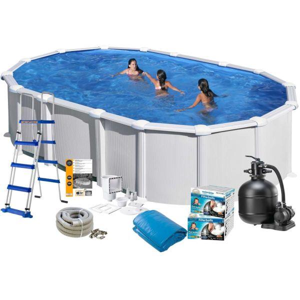 Swim & Fun 2723 Allaspaketti 6,1 x 3,75 x 1,32 m, 23 281 l