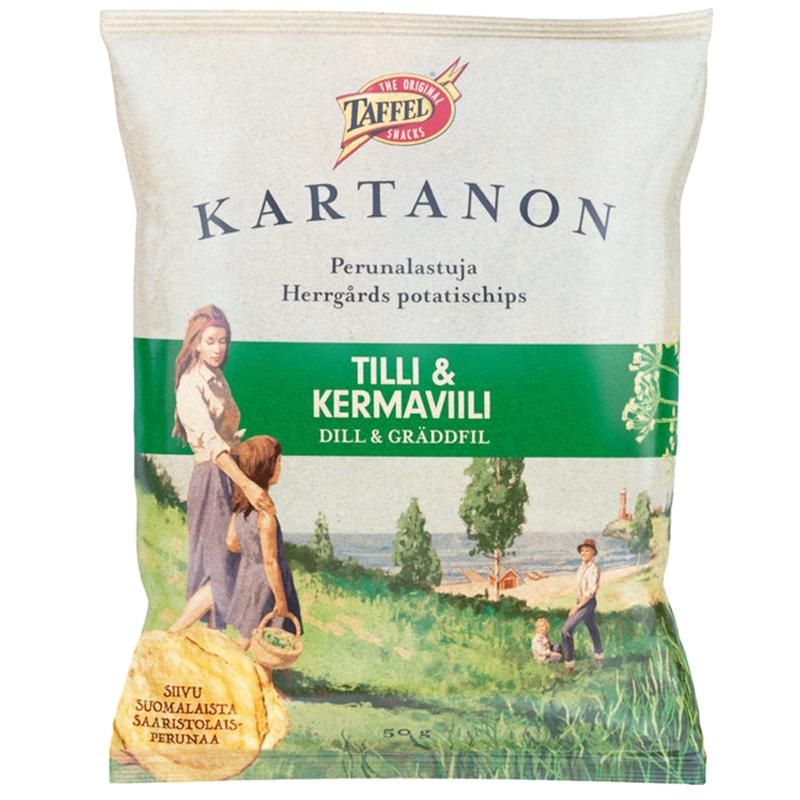 Perunalastut Tilli & Kermaviili - 33% alennus
