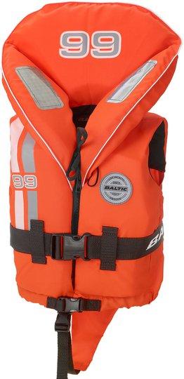 Baltic Skipper Redningsvest 99 15-30 kg, Oransje