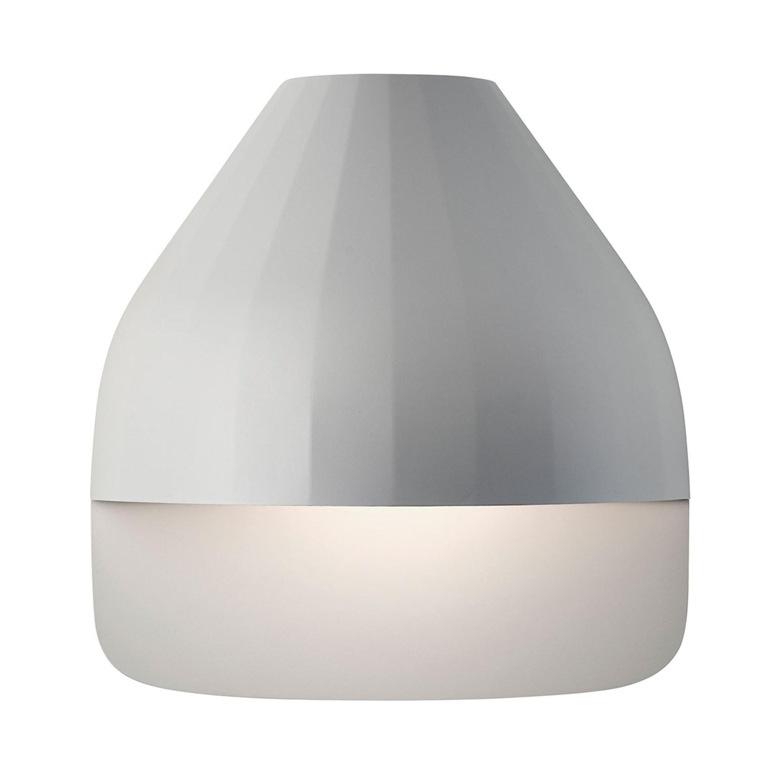 LE KLINT Facet Small -LED-seinävalo, vaaleanharmaa