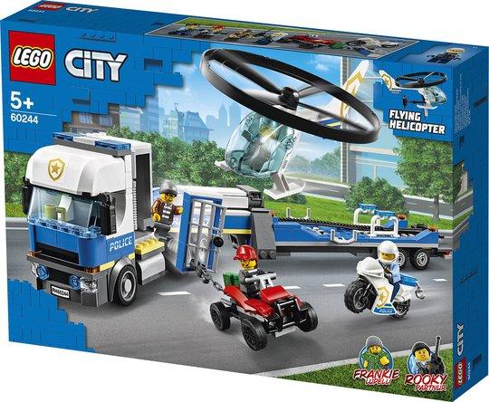 LEGO City Police 60244 Polishelikoptertransport