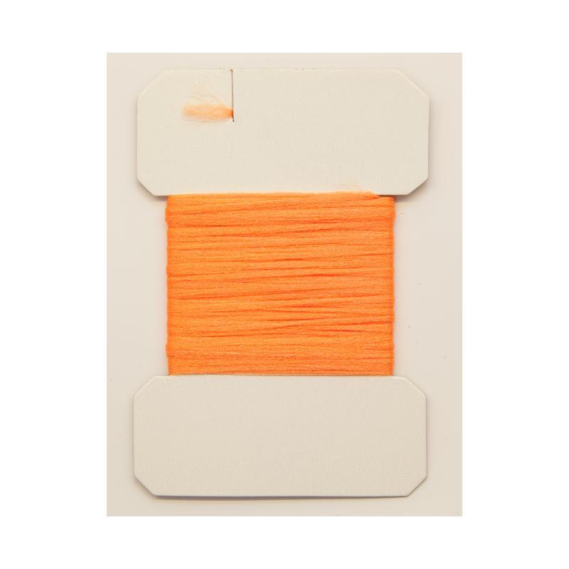 Antron Yarn Carded - Fl. Orange