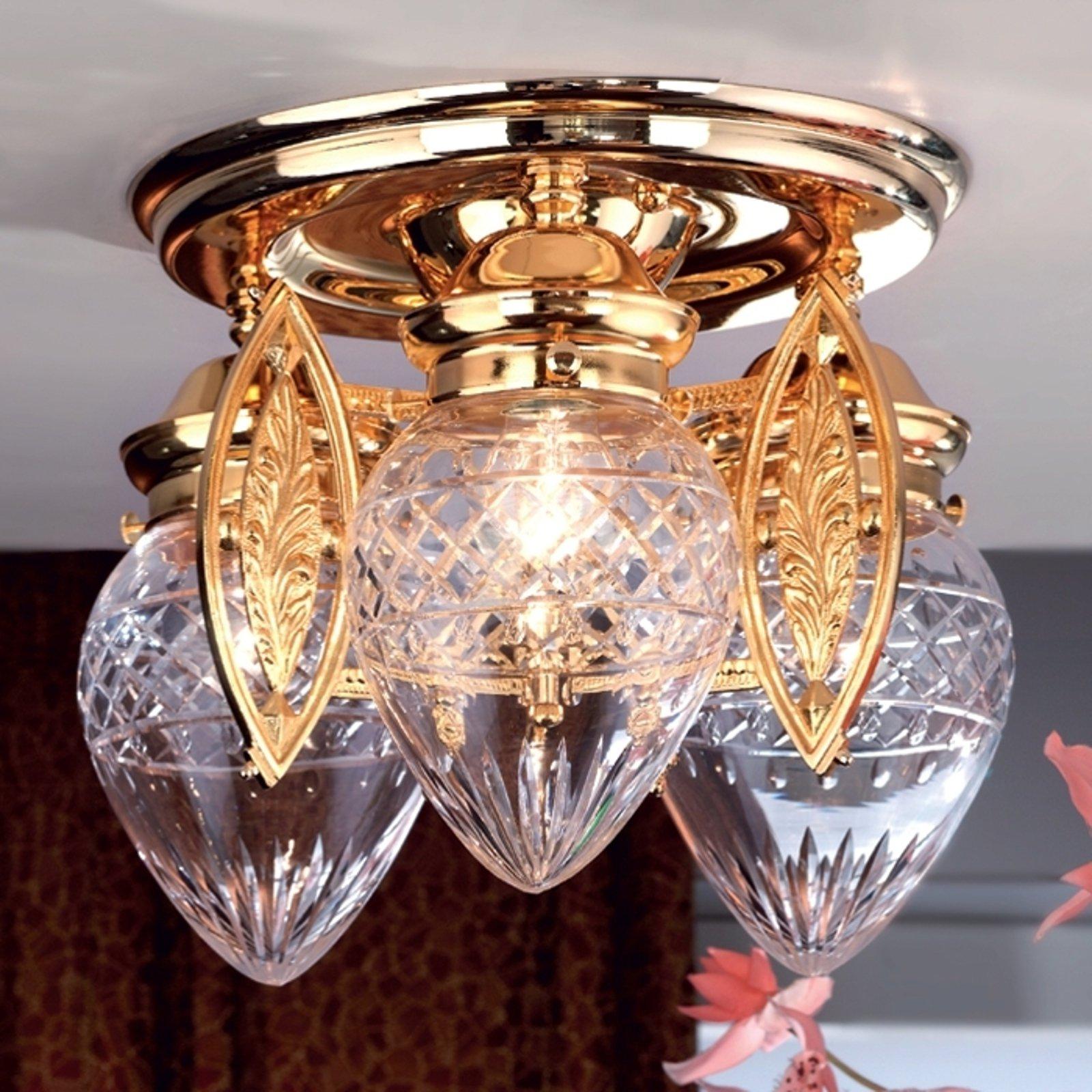 Strålende BUDAPEST taklampe med 3 lys