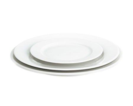Sancerre tallerken flat hvit, Ø 26 cm