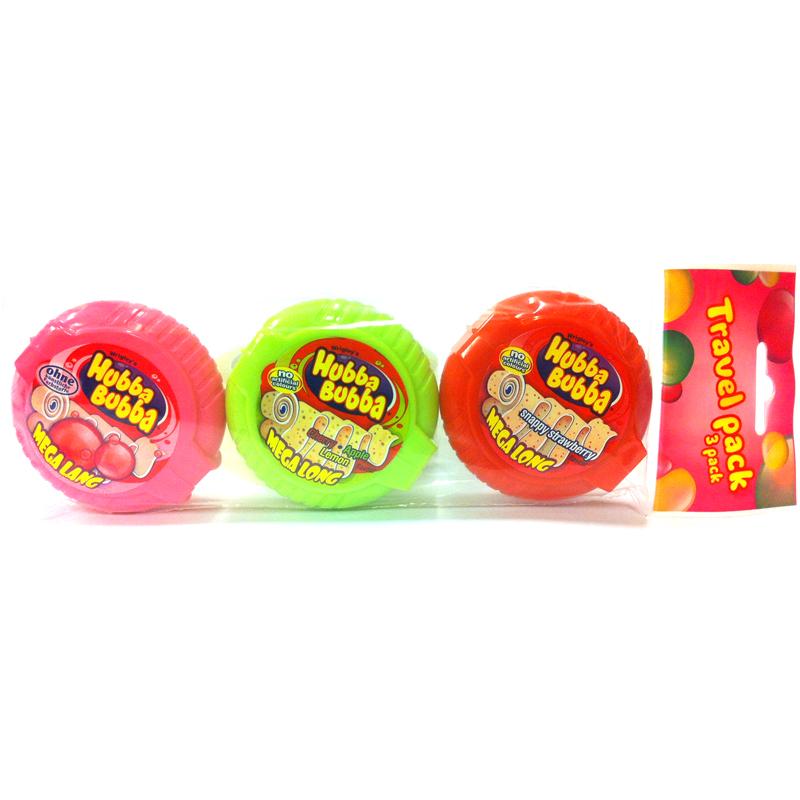 Hubba Bubba Travel Pack - 60% rabatt