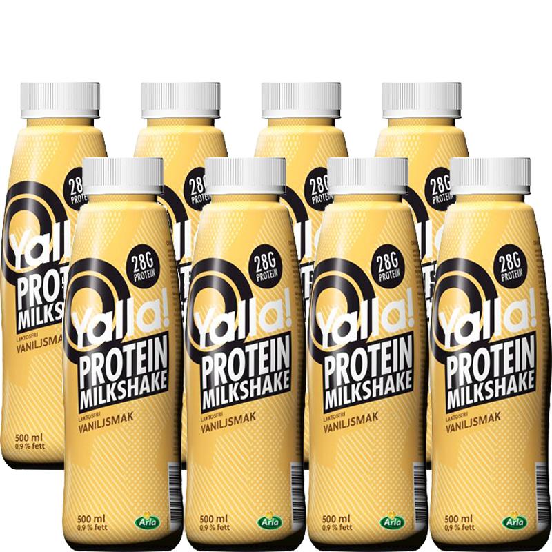 Protein milkshake Vanilj 8x500ml - 29% rabatt