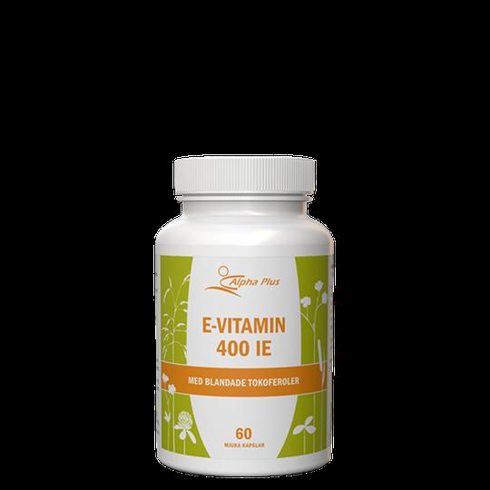 E-vitamin 400IE, 60 mjuka kapslar