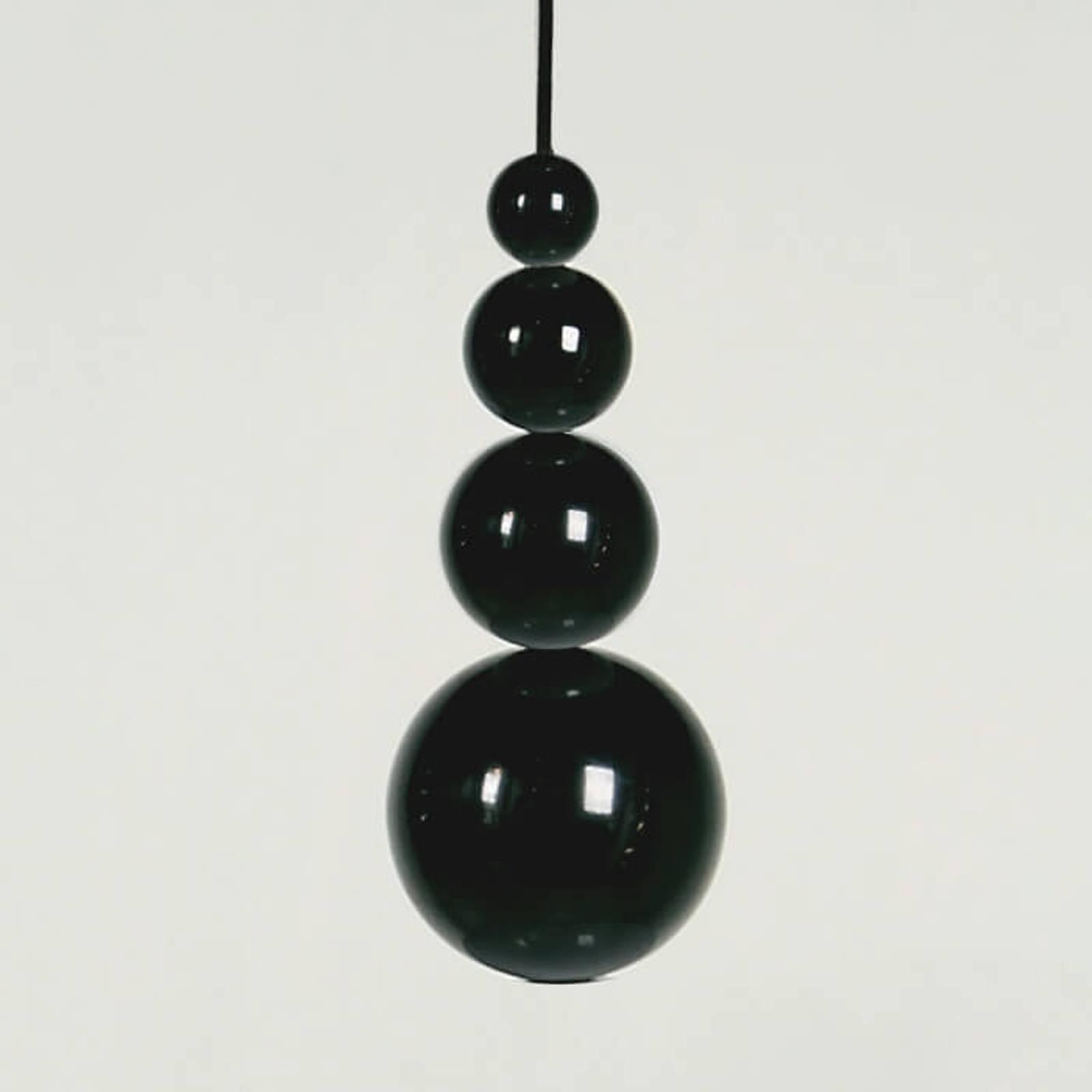 Innermost Bubble -riippuvalo, musta