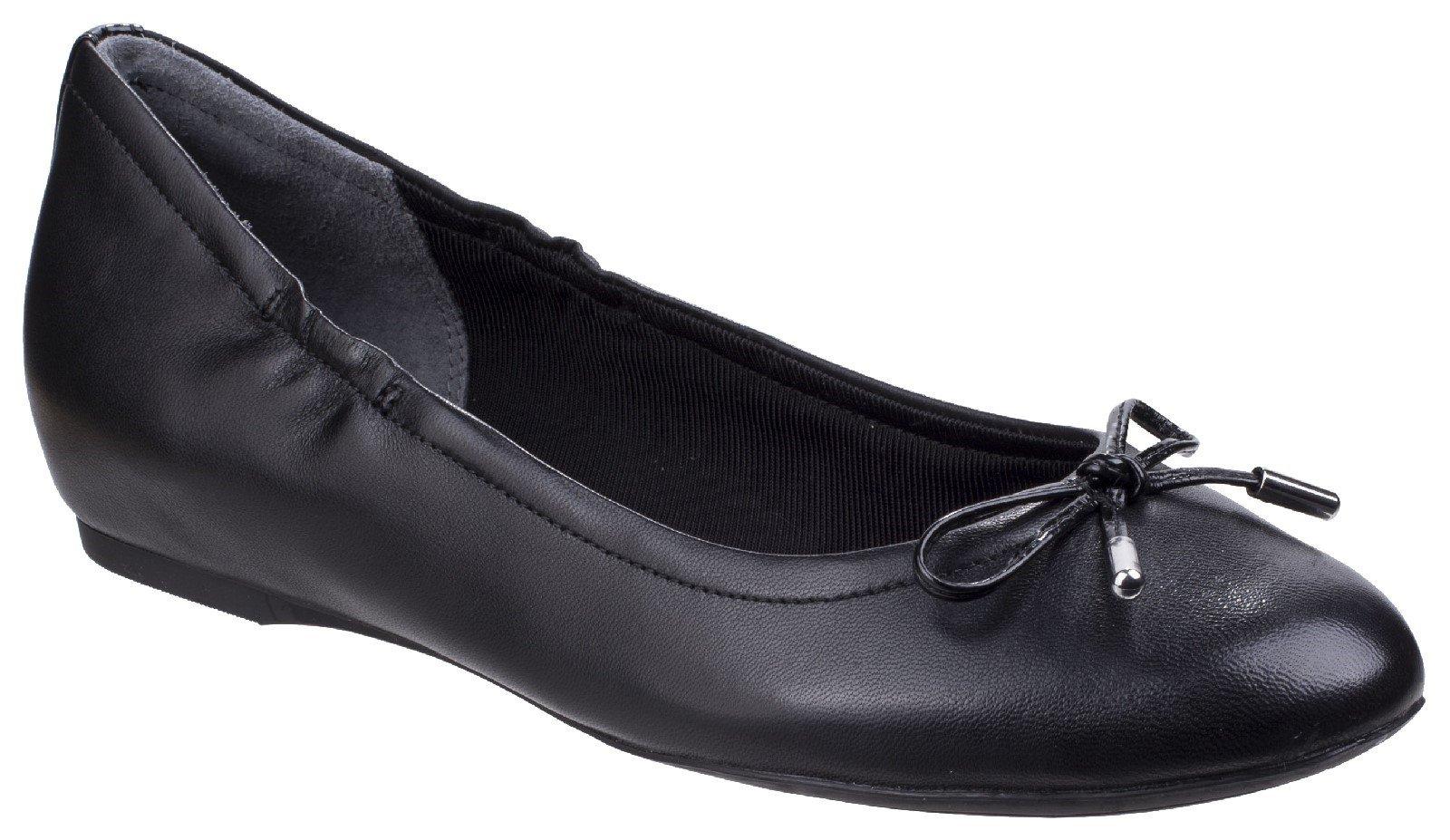 Rockport Women's Tied Ballet Flats Various Colours 26799 - Black 4